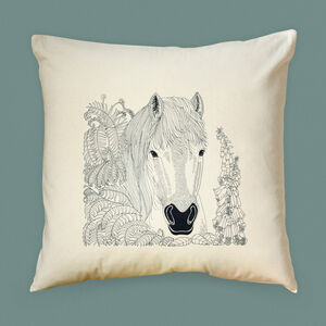 Pony Cushion Cover