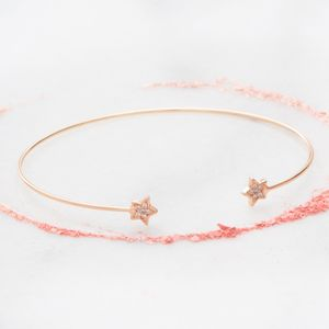 Aline Diamante Star Bracelet - more