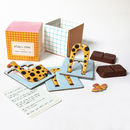 Organic Chocolates And 3D Puzzles Set Of Four Animals