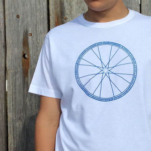 Bike T Shirt For Cyclist: Mandala