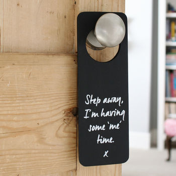 Me Time Hanging Door Sign