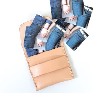 Leather Mini Wallet - wallets & money clips