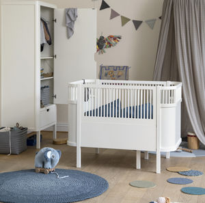 Classic White Baby And Junior Bed - furniture