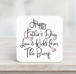 Happy Father's Day From The Bump Script Card