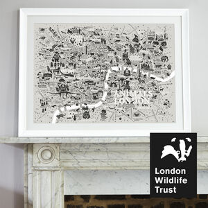 Animals Of London Map