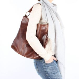 Easton Leather Hobo Bag