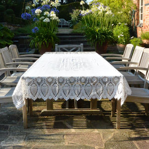 Outdoor Lacework Tablecloth
