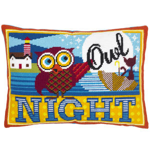 Night Owl Needlepoint Kit