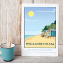 Wells Next The Sea, North Norfolk Print