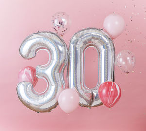 30th Birthday Celebration Balloon Bundle
