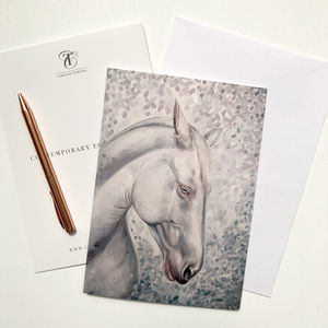 Horse Greeting Card | Horse Gifts | Horse Artwork