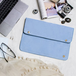 Personalised Suede Oslo Macbook Sleeve/Case