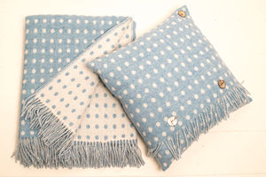 Wool Cushions With Feathered Inner