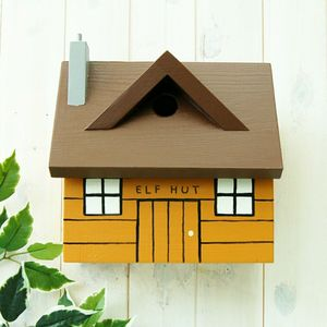 Personalised Log Cabin Bird Box - personalised gifts for grandparents
