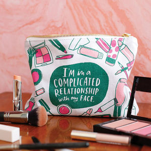 'Complicated Relationship' Pouch - make-up bags