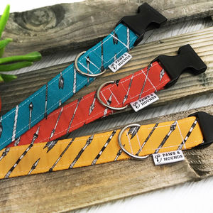 Arrow Pattern Dog Collar