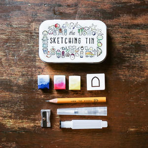 The Sketching Tin - craft-lover