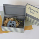 Grey And Cream Memory Box