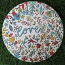 'Love' Paint Your Own Cake Stand