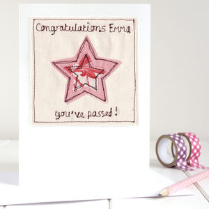 Personalised Graduation / Exam Congratulations Card