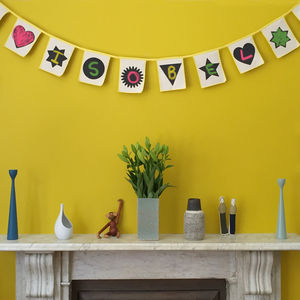 Chalkboard Bunting - children's parties