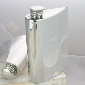 Curved Aerofoil Hip Flask By David Louis
