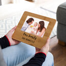 Personalised Our Family Bamboo Photo Board