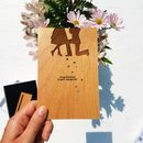 Proposal Engagement Wooden Card