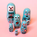 Pocket Robot Nesting Dolls