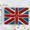 Union Jack Personalised Card A5
