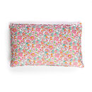 Lumbar Cushion Made With Liberty Fabric 'Betsy Pink'
