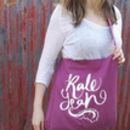 'Kale Yeah' Tote Bag 100% Recycled