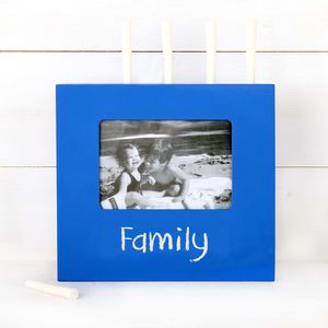 Chalkboard Frame With Chalk, Four Colours - home accessories