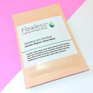 Vegan Sheet Face Mask Hydrating And Soothing