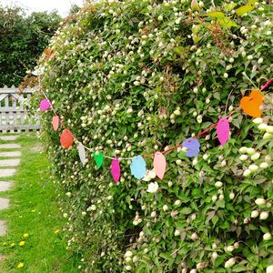 Flower, Heart And Leaf Garland - bunting & garlands