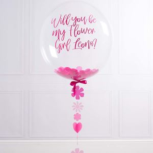 Will You Be My Flower Girl Balloon
