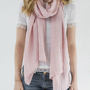 Dusty Pink Scarf Thick