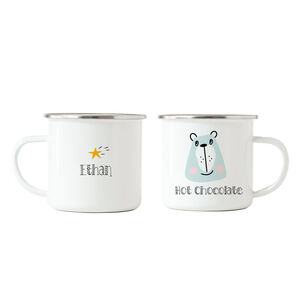 Bear Hot Chocolate Personalised Mug