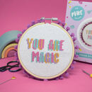 You Are Magic Midi Cross Stitch Kit