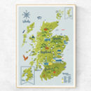 Free Father's Day Card With A2 Whisky Map Of Scotland