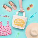 'Hello Sunshine' Little Canvas Bag