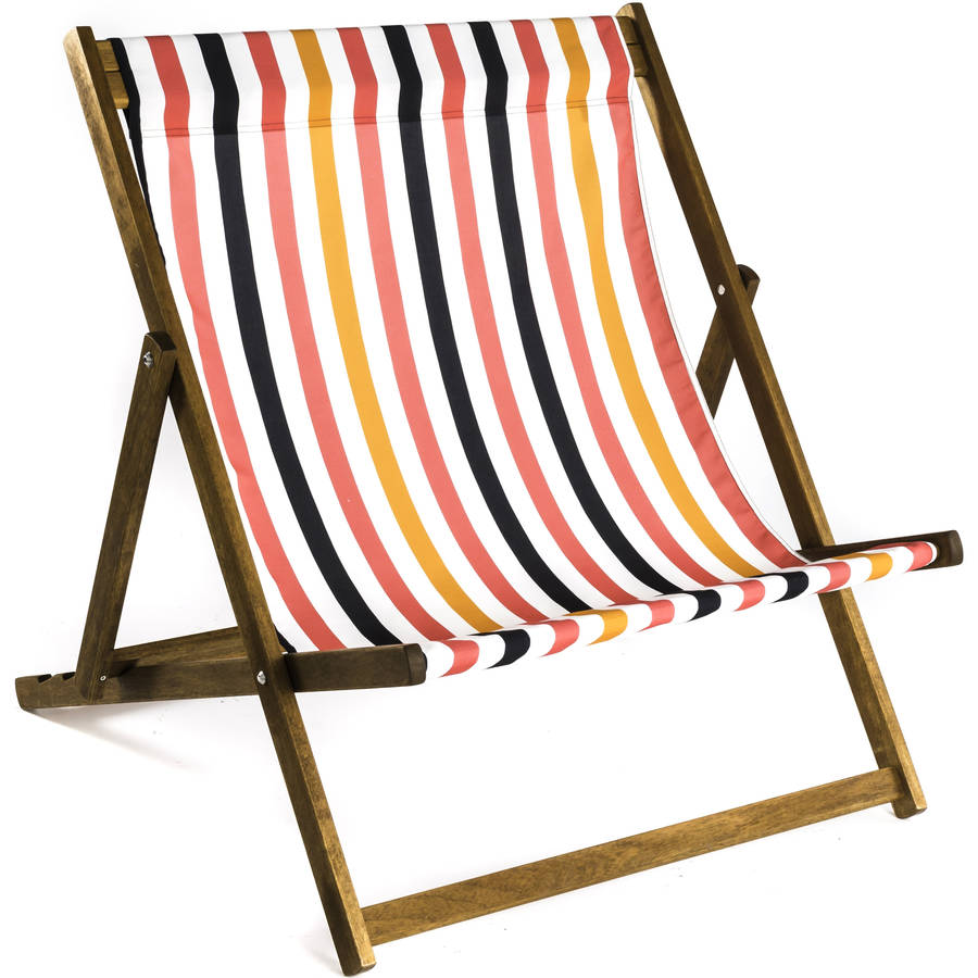 extra large deckchair by denys fielding. Black Bedroom Furniture Sets. Home Design Ideas