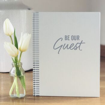 'Be Our Guest' Wedding Guest Book