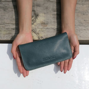 Fairtrade Handcrafted Leather Long Wallet