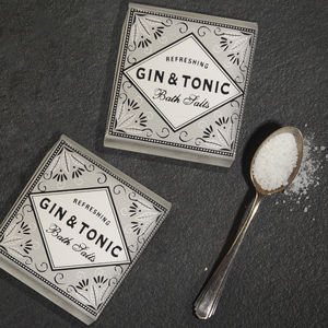 Gin And Tonic Bath Salts Duo