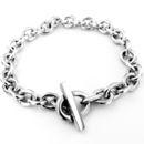 Handmade Silver T-bar Bracelet