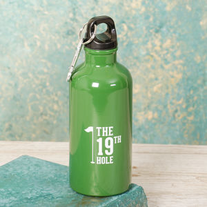 19th Hole Golfer's Water Bottle - flasks & waterbottles