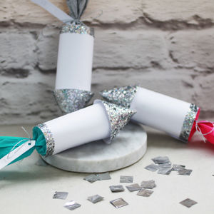 New Years Celebration Confetti Rockets