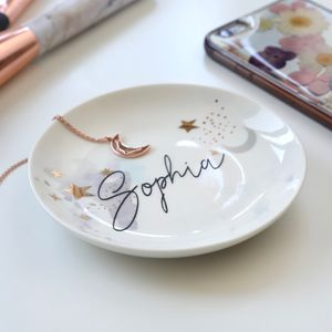 Personalised Starry Night Trinket Dish
