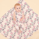 Bells Organic Cotton Baby Shawl